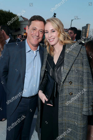 Stock Photo of Adam Fogelson, Chairman of STXfilms, Hillary Fogelson