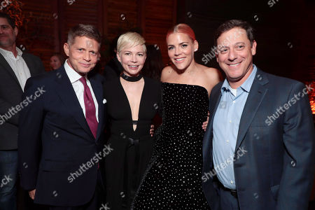 Robert Simonds, Chairman and CEO of STX Entertainment, Michelle Williams, Busy Philipps, Adam Fogelson, Chairman of STXfilms,