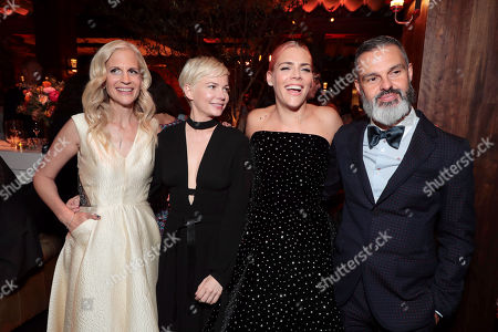 Stock Picture of Abby Kohn, Writer/Director, Michelle Williams, Busy Philipps, Marc Silverstein, Writer/Director,