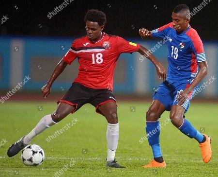 Stock Image of Triston Hodge and Ronaldo Dinolis