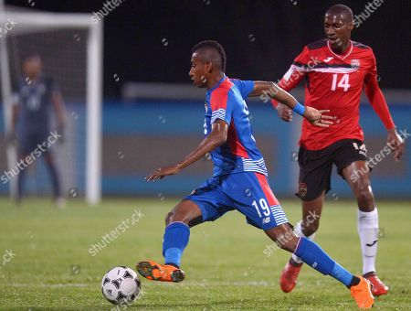 Editorial image of Trinidad and Tobago vs Panama, Couva - 18 Apr 2018