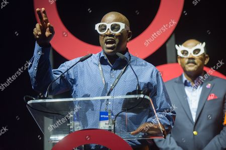 Mokgweetsi Masisi (President of Botswana), Gaston Browne (Prime Minister of Antigua and Barbuda)