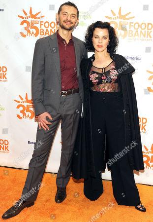 Gabriele Corcos and Debi Mazar
