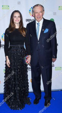Princess Sofia of Sweden and Jan Eliasson