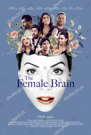 The Female Brain (2017) Poster Art. Lucy Punch, Deon Cole, Toby Kebbell, James Marsden, Cecily Strong, Blake Griffin, Sofia Vergara