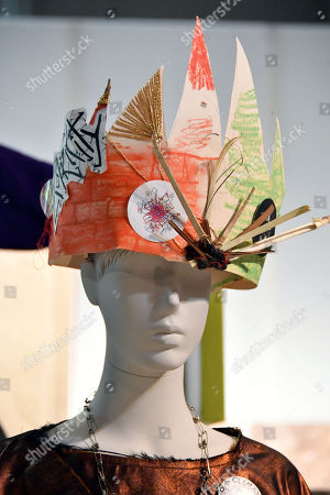 Stock Photo of Vivian Westwood 'Ecotricity crown', 2017