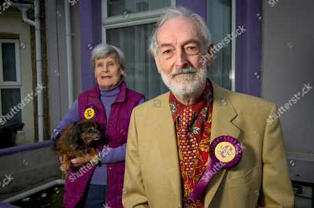 Editorial picture of UKIP candidates, Swindon, Wiltshire, UK - 12 Apr 2018