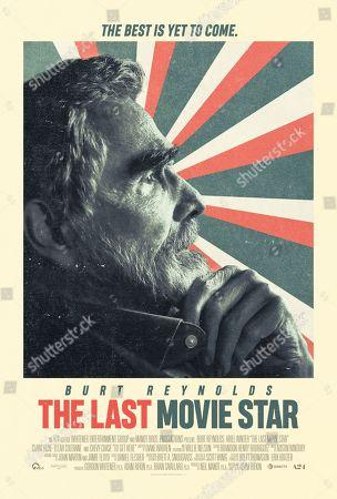 The Last Movie Star (2017) Poster Art. Burt Reynolds
