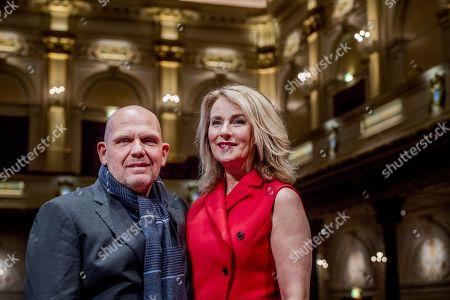 Jaap van Zweden with wife Aaltje
