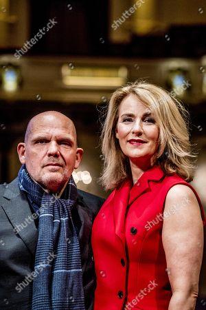Stock Photo of Jaap van Zweden with wife Aaltje