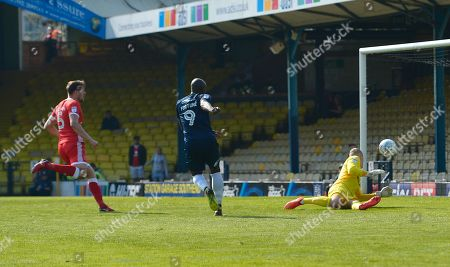 Editorial image of Southend United v MK Dons, Sky Bet League One, Football, Roots Hall, Southend on Sea, UK - 21 Apr 2018