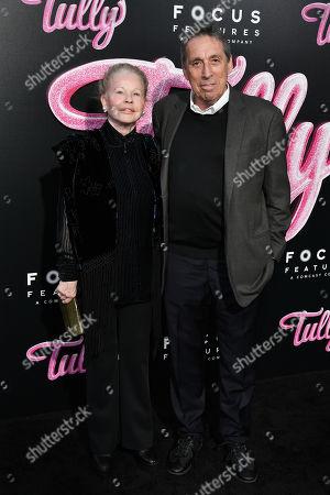 Stock Picture of Genevieve Robert and Ivan Reitman