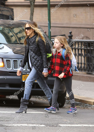 Editorial picture of Sarah Jessica Parker out and about, New York, USA - 18 Apr 2018