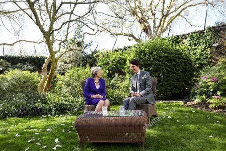 Editorial picture of Canadaian PM Trudeau in London, United Kingdom - 18 Apr 2018
