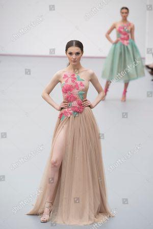 Sophie Horbury on the catwalk