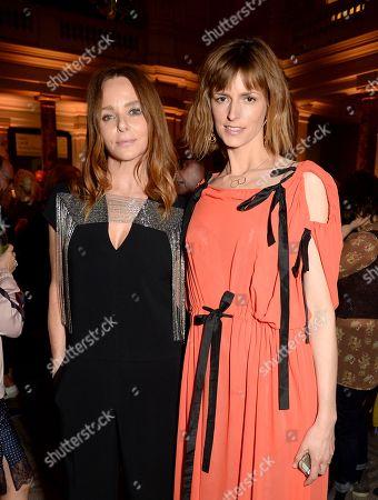 Stella McCartney and Jacquetta Wheeler