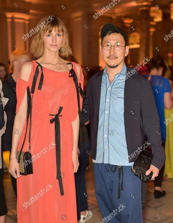 Jacquetta Wheeler and Eudon Choi