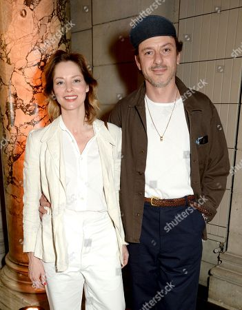 Sienna Guillory and Enzo Cilenti