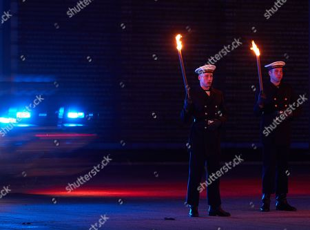 Editorial image of Grand Tattoo farewell ceremony for Chief of Staff Volker Wieken, Berlin, Germany - 18 Apr 2018