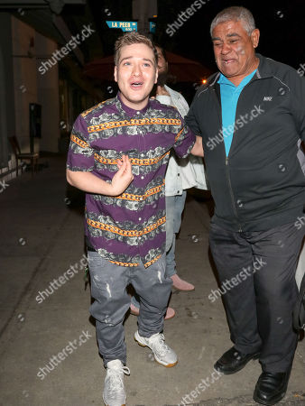 Editorial image of Celebrities at Craig's Restaurant, Los Angeles, USA - 17 Apr 2018