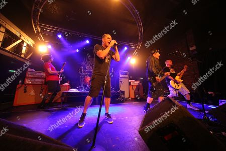 Ugly Kid Joe - Klaus Eichstadt, Whitfield Crane, Cordell Crockett and Dave Fortman