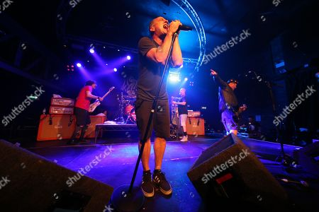 Ugly Kid Joe - Klaus Eichstadt, Whitfield Crane, Dave Fortman and Cordell Crockett
