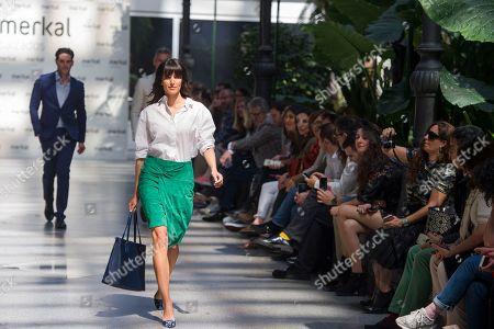 Ana Albadalejo on the catwalk