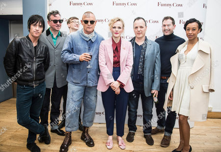 Stock Picture of Johnny Marr, Richard Hawley, Danny Hawley, Tony Pitts, Maxine Peake, Mark Vennis, Kevin Proctor and Corinne Bailey Rae