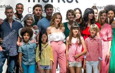 Marta Hazas, Alejandra Andreu, Ana Albadalejo on the catwalk