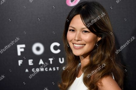 """Elaine Tan arrives at the Los Angeles premiere of """"Tully"""" at Regal Cinemas L.A. Live on"""