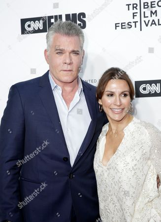 Ray Liotta and Silvia Lombardo