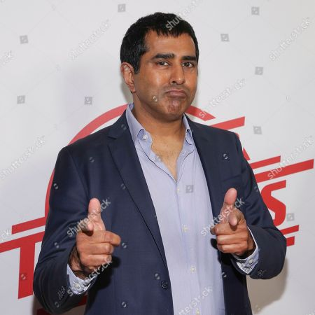 "Actor Jay Chandrasekhar attends the premiere of ""Super Troopers 2"" at Regal Union Square, in New York"