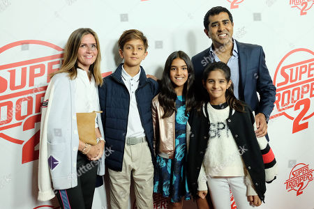 Jay Chandrasekhar (Director) with family