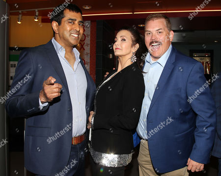 Jay Chandrasekhar (Director), Lynda Carter and Kevin Heffernan