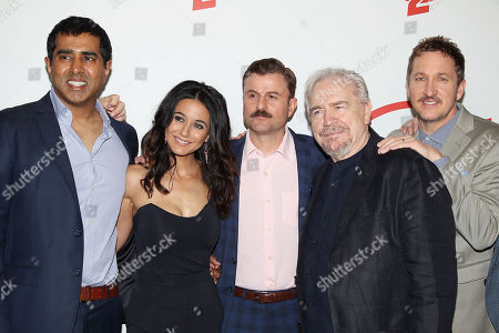 Jay Chandrasekhar, Emmanuelle Chriqui, Steve Lemme, Brian Cox and Paul Soter