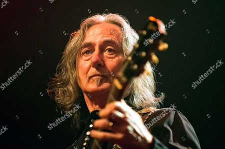 Former Boston guitarist Barry Goudreau performs before Joe Perry and Friends at the House of Blues on in Boston