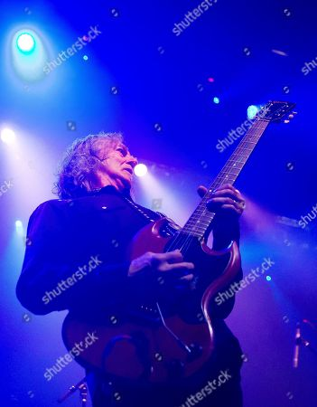 Stock Image of Former Boston guitarist Barry Goudreau performs before Joe Perry and Friends at the House of Blues on in Boston