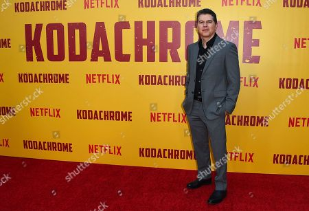 """Dan Levine arrives at the Los Angeles premiere of """"Kodachrome"""" at the Arclight Hollywood on in Los Angeles"""