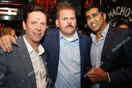 Erik Stolhanske, Kevin Heffernan and Jay Chandrasekhar