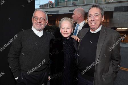 Ron Meyer, Vice Chairman of NBCUniversal, Genevieve Robert, Ivan Reitman