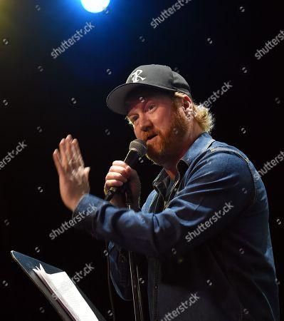 Stock Image of Comedian Jon Reep