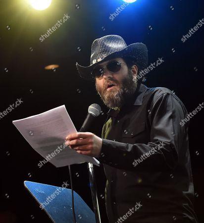 Stock Image of Country Singer/Songwriter Wheeler Walker, Jr.