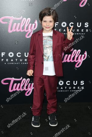 Editorial image of 'Tully' Film Premiere, Los Angeles, USA - 18 Apr 2018