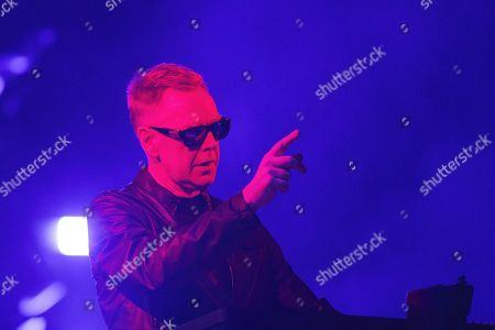 Andrew Fletcher of the band Depeche Mode