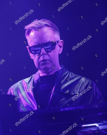 Editorial image of Depeche Mode in concert, Helsinki, Finland - 18 Feb 2018