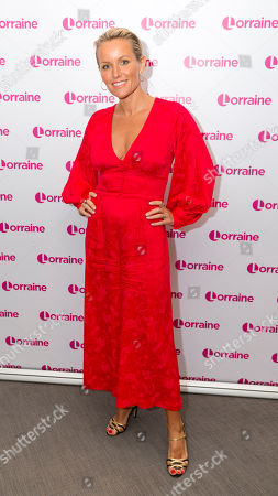 Editorial image of 'Lorraine' TV show, London, UK - 19 Apr 2018