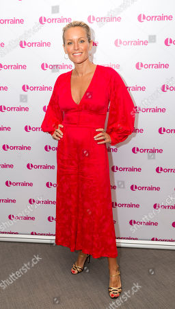 Editorial picture of 'Lorraine' TV show, London, UK - 19 Apr 2018