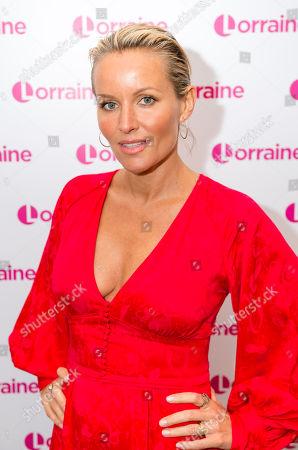 Editorial photo of 'Lorraine' TV show, London, UK - 19 Apr 2018