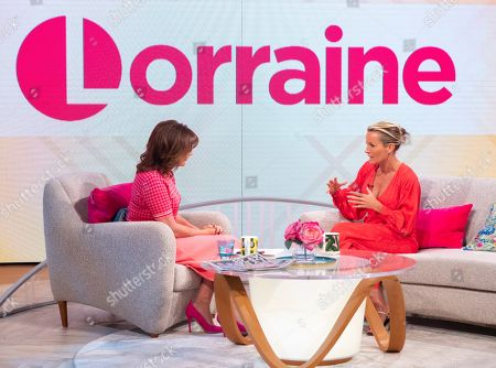 Lorraine Kelly and Davinia Taylor