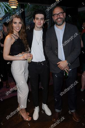 Lucy Kane, Jack Rowan and Simon Heath